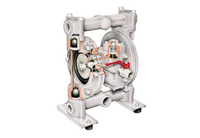 Diaphragm pump cross-section